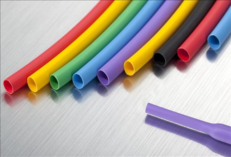 Цветная термоусадочная трубка широкого применения