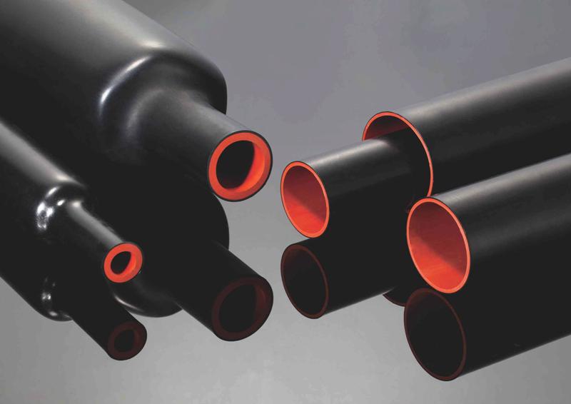 Двухслойная высоковольтная термоусадочная трубка