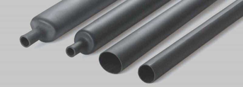 Термоусаживаемые трубки с клеем предназначены для герметизации при усадке